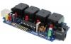 Relay controlador por USB: 4 puertos, 6 canales Analó./Digital